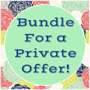 Other - Bundle your likes for private offers